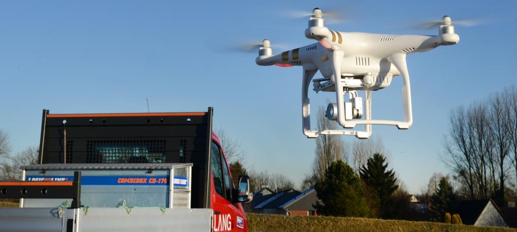 Dachcheck mit der Drohne
